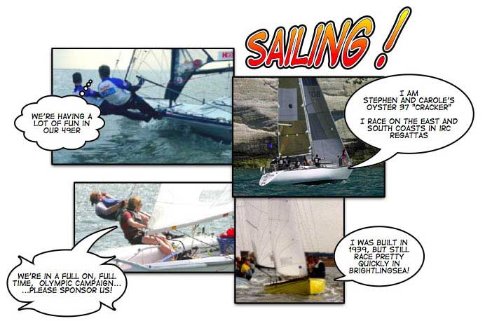 sailing images